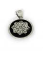 Mandala con símbolo hindú Om