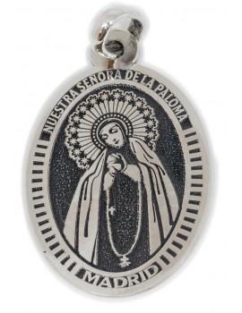 Nuestra Señora  de la Paloma Madrid - medalla oval grande