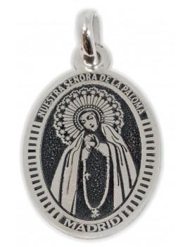 Nuestra Señora  de la Paloma Madrid - medalla oval pequeña