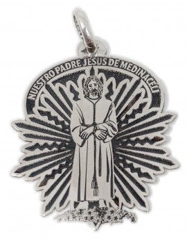 Cristo Medinaceli - medalla calada grande