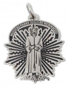 Cristo Medinaceli - medalla calada pequeña