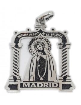 Nuestra Señora  de la Paloma Madrid - medalla calada pequeña